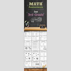 Common Core Math Assessments  3rd Grade  Math, Common Core Math And K 1