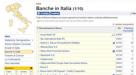 ricerca codici iban banche italiane ricerca da iban come si trova quotidianpost it