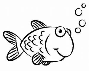 Golden Fish Coloring Pages - ClipArt Best