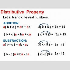 17 Distributive Property  Ppt Download
