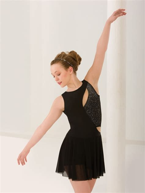 costume de danse moderne figure skating dresses lyrical ballet professional ballerina dress ballet