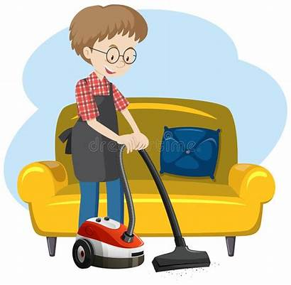 Cleaning Clipart Casa Vector Illustration Pulire Graphics