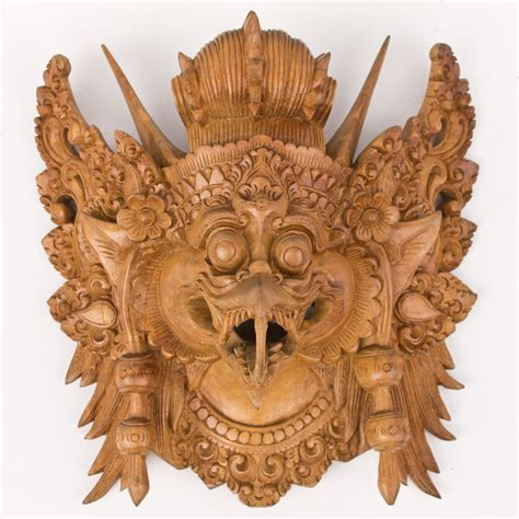 balinese masks wholesale supplier wood carving art