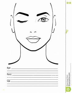 Practice Makeup Face Sheets