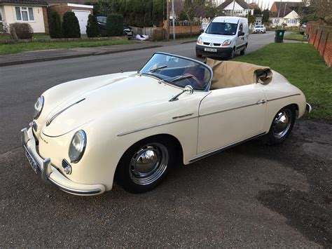 old porsche speedster 1957 porsche 356 speedster replica for sale classic cars