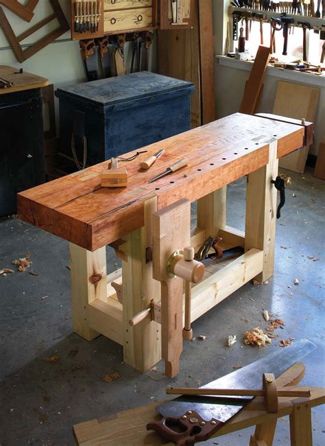 Woodworking Bench by My Signature Series Workbench Lost Press