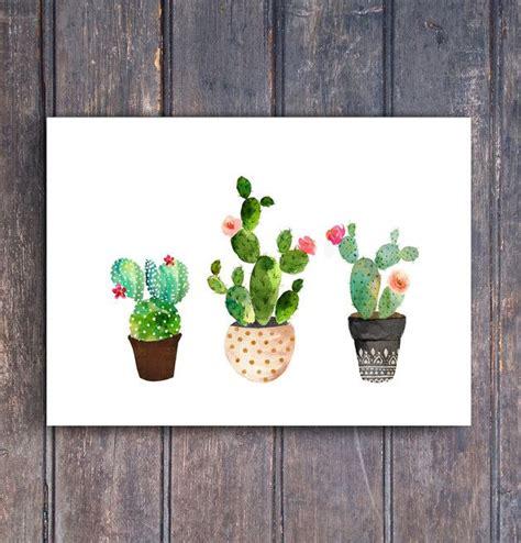 kaktus kaktus kaktus aquarell