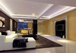Ceiling modern designs for living room for Modern living room ceiling design