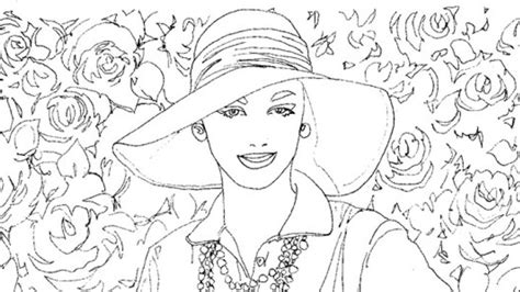 1950s Book Pages Coloring Pages