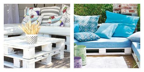 canapé design noir et blanc le salon de jardin en palette en plus de 110 idées originales