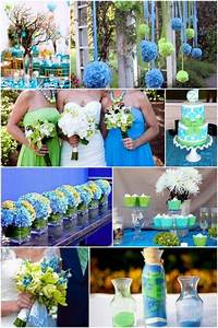 which blue is right for you receptions pastel and With blue and green wedding ideas