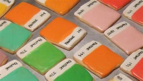 what color is the cookie if it s hip it s here archives pantone color chip