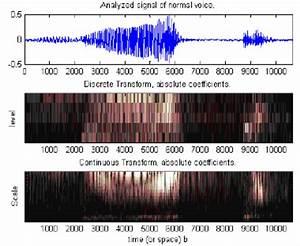 Wavelet Analysis Of Normal Voice