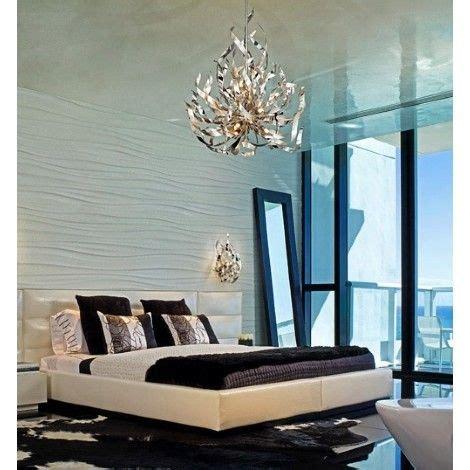 luminaire suspendu chambre a coucher luminaire suspendu chrome et feuille d 39 argent idéal pour