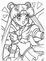 Sailor Moon Pages Coloring Popular sketch template