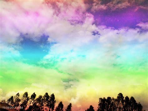 ท้องฟ้าอันสดใส : ภาพถ่ายจากมือถือ