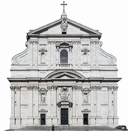 Church Gesu Italy Gesu Trivium Baroque
