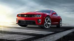 Wallpaper Chevrolet Camaro red car 2560x1600 HD Picture, Image