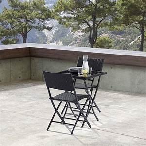 Table De Jardin 2 Personnes : table jardin et chaises 2 personnes kiosque ~ Teatrodelosmanantiales.com Idées de Décoration