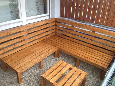 Garten Eckbank Selber Bauen by Outdoor Lounge Selber Bauen Bauanleitung Zum Selberbauen