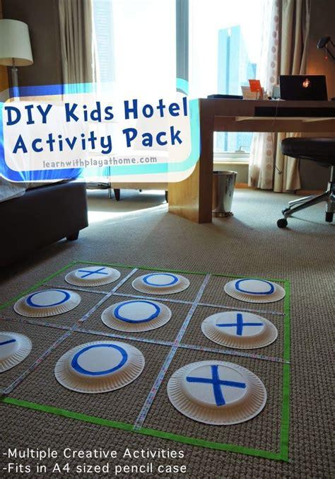 diy kids hotel activity pack hotels  kids business
