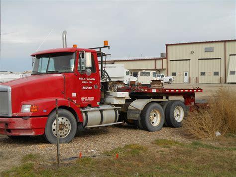 volvo trailer for used 1998 volvo semi tractor w trailman trailer
