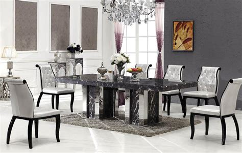 bologna marble dining table   chairs grey marble