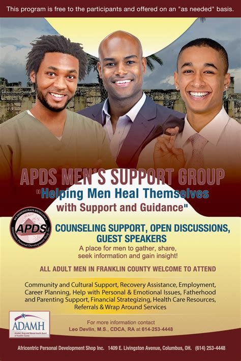 apds mens support group program