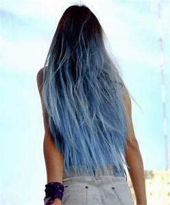 Blaue Haare Ombre : haare braun blau t nen geht das ombre haart nung ~ Frokenaadalensverden.com Haus und Dekorationen
