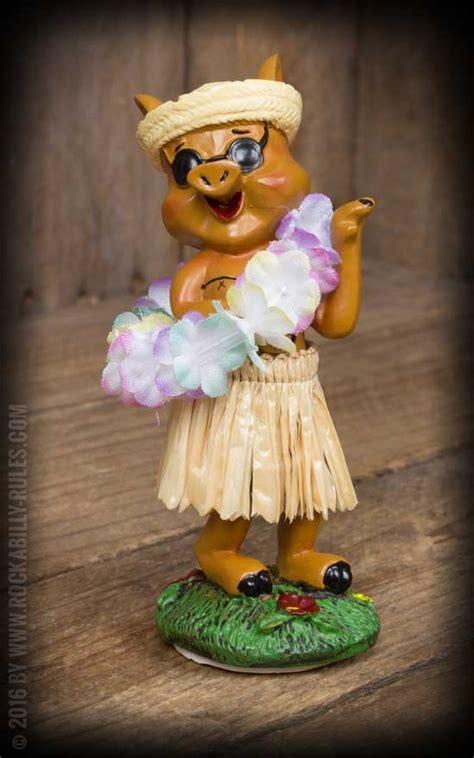Wobbler Hula Pig   Rockabilly Rules