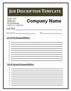 job description blank templates video search engine at With how to create job description template