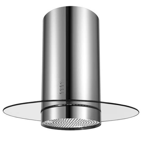 Cookology CYL905RGL Stainless Steel 90cm Round Glass