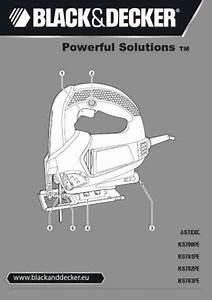 Black Decker Ks 700 Pelm Qs Tools Download Manual For Free