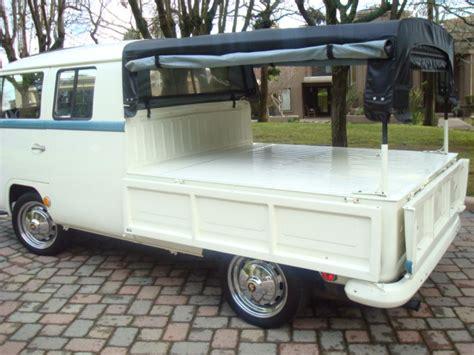 vw double cab pickup rotisserie restoration