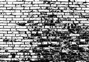Grunge white and black brick wall Royalty Free Vector Clip ...