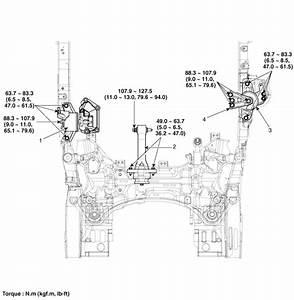 Hyundai Santa Fe  Engine Mounting  Components And