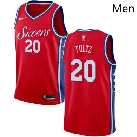 Mens Nike Philadelphia 76ers 20 Markelle Fultz Authentic ...