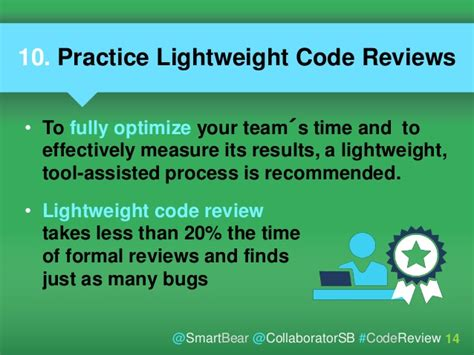 10 Best Practices For Peer Code Review