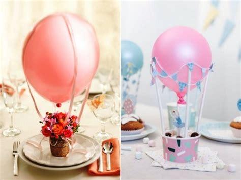 heissluftballon basteln und die luefte vom eigenen zuhause