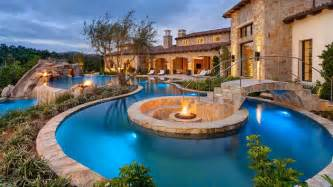 Stunning Mediterranean House Plans With Pools by 15 Ideas For Daunting Mediterranean Pool Designs Home