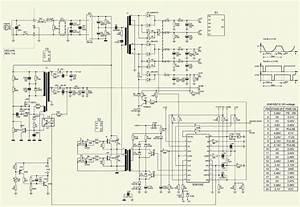 400 Watts Atx Power Supply-p4 - Desktop Computers - Schematic