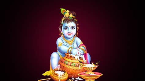 lord bal krishna beautiful image beautiful hd wallpaper