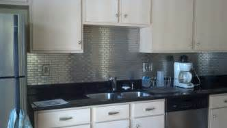 Cheap Kitchen Tile Backsplash 5 Diy Stainless Steel Kitchen Makeovers On The Cheap Do It Yourself Ideas