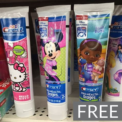 14932 Printable Coupons Crest Toothpaste by Free Crest Toothpaste At Target Frugal Finds
