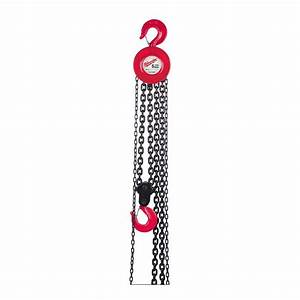 Milwaukee 1  2 Ton 15 Ft  Hand Chain Hoist-9668-20