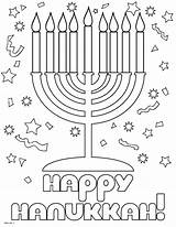 Coloring Hanukkah Pages Happy Printable Chanukah Hannukah Crafts Holidays Preschool Holiday Menorah Seasonal Colouring Sheets Dreidel Decorations Adult Fun Kindergarten sketch template