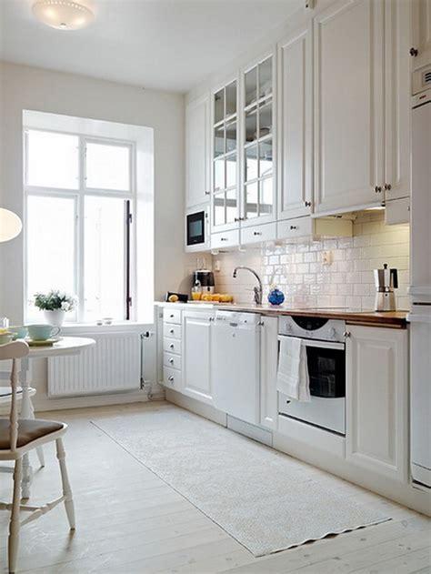 cocinas blancas  negras cocinas blancas modernas