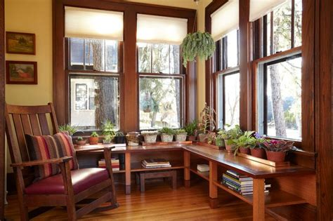 blinds for sunrooms gallery craftsman style window treatments photos ideas