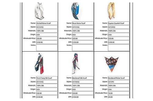 fashion line sheet template download