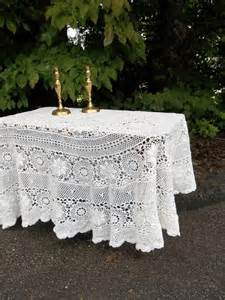 lace tablecloths for weddings vintage army navy tablecloth 67x98 ivory lace tablecloth vintage wedding decorations table decor